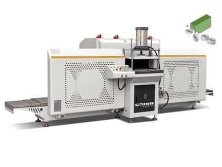 铝型材自动走刀式铣榫机